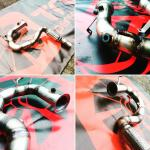 Turbo Downpipe / Supressor FAP e Cat 2010>